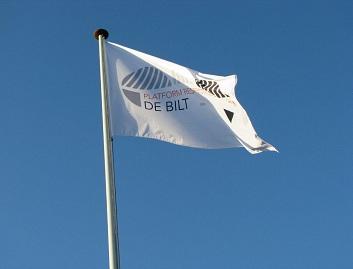 Vlag van het Platform Respectvol Samenleven De Bilt.